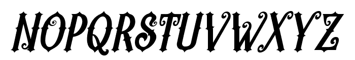 Revorioum Font UPPERCASE