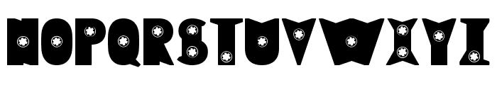 Rewind Font UPPERCASE