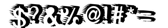 RewindForward Font OTHER CHARS