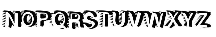 RewindForward Font UPPERCASE