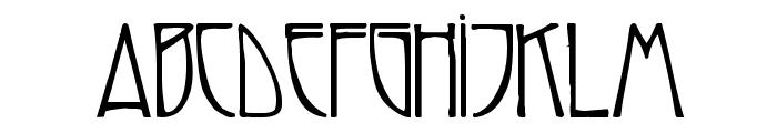 Reynold Art Deco Font UPPERCASE