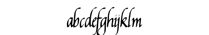 Reynolds Chancery Font LOWERCASE