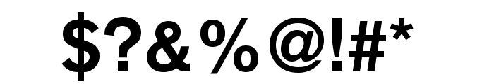 Reznor Broken Font OTHER CHARS