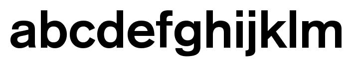Reznor Broken Font LOWERCASE
