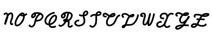 reason to believe Font UPPERCASE