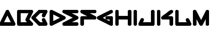 rec Bold Font LOWERCASE