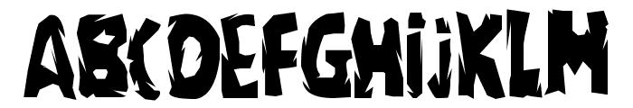 regime Font UPPERCASE