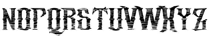 republic_stroke Font UPPERCASE
