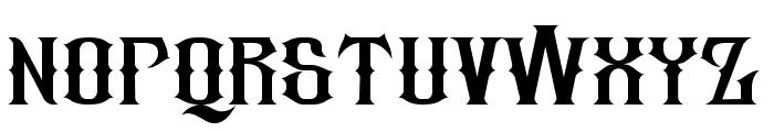 republic Font LOWERCASE