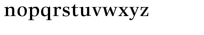 Really No 2 Hebrew Demi Font LOWERCASE