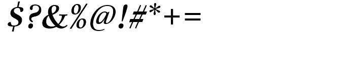 Really No 2 Hebrew Semibold Italic Font OTHER CHARS