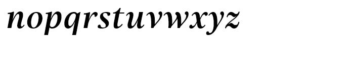 Really No 2 Hebrew Semibold Italic Font LOWERCASE
