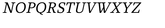 Rebecca Samuels Italic Font UPPERCASE