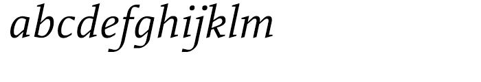 Rebecca Samuels Italic Font LOWERCASE
