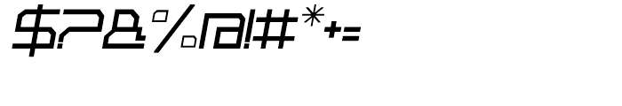 Rebirth Fine Italic Font OTHER CHARS