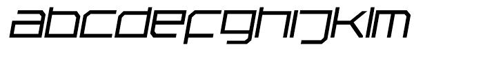 Rebirth Fine Italic Font LOWERCASE