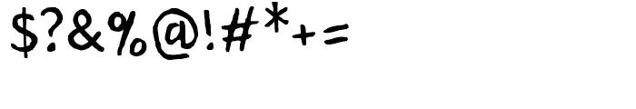 Rebus Script Regular Font OTHER CHARS