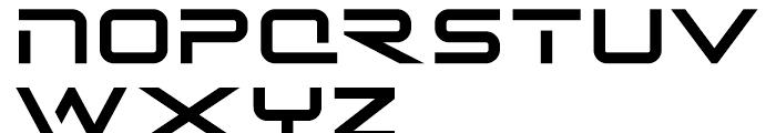 Recepts NF Regular Font UPPERCASE