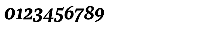 Recia Bold Italic Font OTHER CHARS