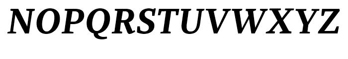 Recia Bold Italic Font UPPERCASE