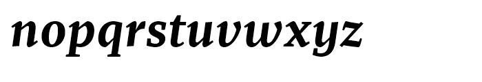 Recia Bold Italic Font LOWERCASE