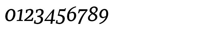 Recia Medium Italic Font OTHER CHARS