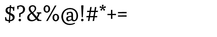 Recia Medium Font OTHER CHARS