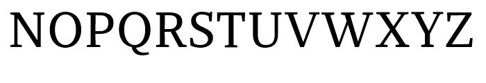 Recia Medium Font UPPERCASE