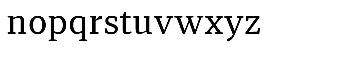 Recia Medium Font LOWERCASE