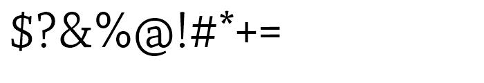 Recia Regular Font OTHER CHARS