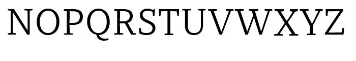 Recia Regular Font UPPERCASE