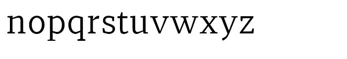 Recia Regular Font LOWERCASE