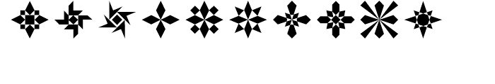 Rectilinear Ornaments Font OTHER CHARS