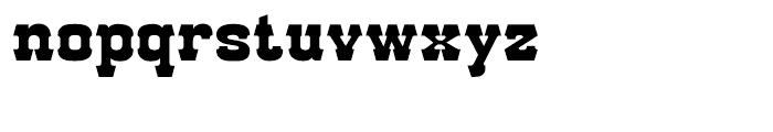 Red Dog Saloon Regular Font LOWERCASE