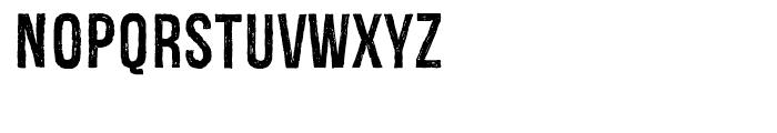 Redgar Regular Font LOWERCASE