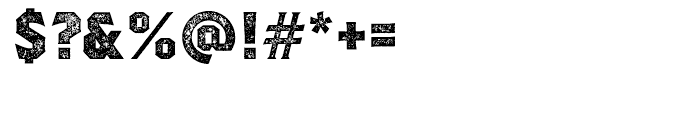 Regalia Stamped Font OTHER CHARS