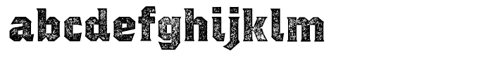Regalia Stamped Font LOWERCASE