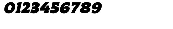 Regan Slab Ultra Italic Font OTHER CHARS
