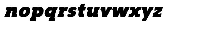 Regan Slab Ultra Italic Font LOWERCASE