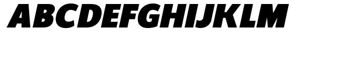 Regan Ultra Italic Font UPPERCASE