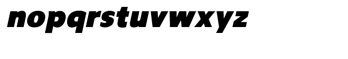 Regan Ultra Italic Font LOWERCASE