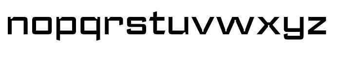 Register Wide Demi Bold Font LOWERCASE
