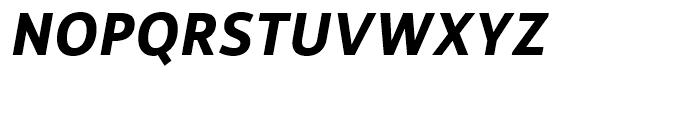 Rehn Bold Italic Font UPPERCASE