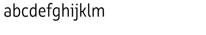 Rehn Condensed Light Font LOWERCASE