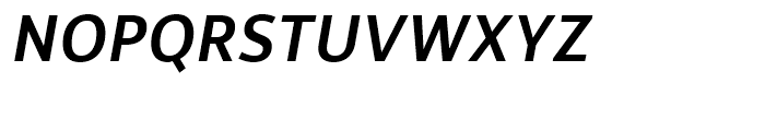 Rehn Medium Italic Font UPPERCASE