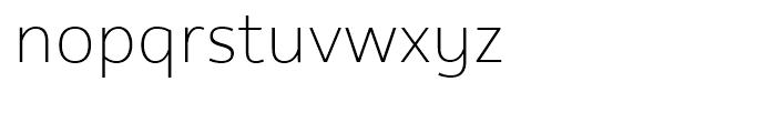 Rehn Thin Font LOWERCASE