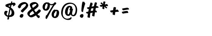 Reklame Script Medium Font OTHER CHARS