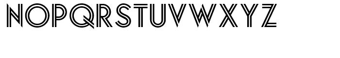 Relampago NF Regular Font UPPERCASE