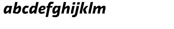 Relato Sans Bold Italic Font LOWERCASE