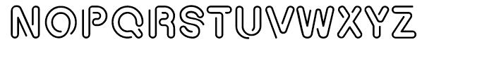 Relava Regular Font UPPERCASE